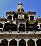 Temple of Krishna close up