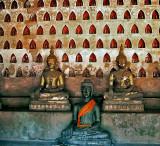 Buddha images big and small
