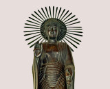 Standing Buddha of Japanese style
