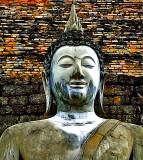 Buddha image, close up