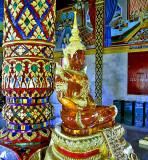 Amber Buddha image
