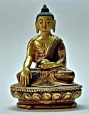 Small image of the Buddha holding a jar