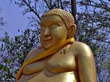 Fat happy Budda, close up