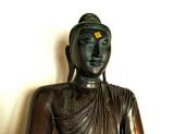 Buddha image from Pagan, Burma