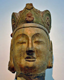 Head of a large Buddha image