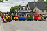 Minature train for Centennial