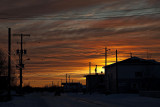 Sunset over Ferguson Road