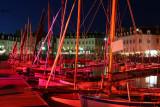 Photos des animations et des flotilles dans le port de Vannes en fin de journée