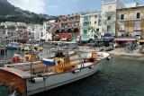 Vacances sur l'île de Capri - Le village de Capri et le port de Marina Grande