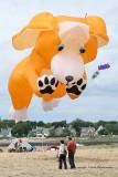 Compétition de cerfs-volants Les jounées du vent 2009 à la pointe de Penvins