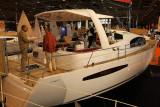 Le Feeling 55 du chantier Alliaura Marine, la plus grosse unitée du salon, superbe et impressionnant !