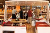 A bord du catamaran Lavezzi 40 du chantier Fountaine-Pajot