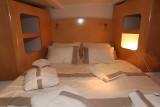 A bord du catamaran Orana 44 du chantier Fountaine-Pajot
