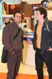 Franck Cammas avec Steve Ravussin vainqueurs de la Transat Jacques Vabre 2007