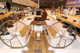 A bord du Hanse 470 du chantier Hanse Yachts