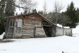 Une ancienne grange d'alpage