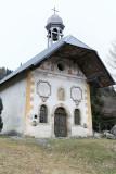 Une chapelle baroque entre Combloux et Saint-Gervais