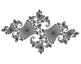 Beauty of Fractals Fig 15 B&W