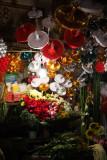 Flower stall, Eastern Stairway