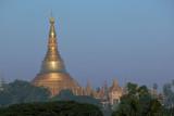 Dawn over the Shwedagon