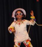 Uma's First Dance Performances (3.5 yrs) in Dallas 2004
