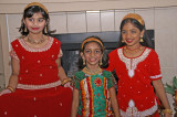 The Pagla Hawa girls party after the performance.