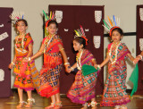 They entrall the audience with their vibrance and colorful costumes to match.