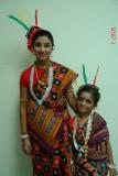 Uma and Shreya.