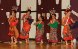 Sambalpuri Group Performance at Durga Puja in Dallas.