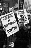 Poll Tax Demo Leeds England 1990