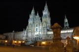 Night Lights in Santiago de Compostela (Galicia-Spain)