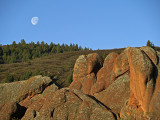 Moon over Rocks