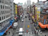 New York City view from Manhattan bridge