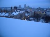 Vilnius from Novotel hotel