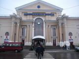 Vilnius main railway station