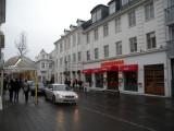 Reykjavik main shopping street