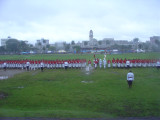 Nadi to Suva bus arriving in Suva during national day celebrations