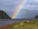 Rainbow over Loch Lomond