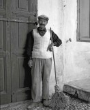 Street sweeper  Rhodes ,Greece 1955