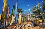 Prayer flags, Thimpu