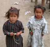 Nepali children, Barsheni
