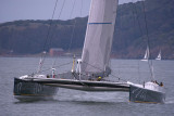 Gitane 13 - San Francico to Yokahama record run start