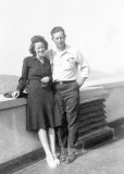 Bruce Russell & Violet Helmick (Russell)