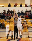Queen's Vs Laurentian W-Basketball 01-29-10