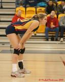 Queen's Vs York W-Quarter Final Volleyball 02-19-10