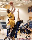 Queen's Vs Ryerson M-Basketball 02-24-10