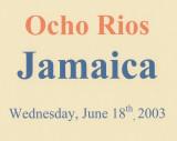 2003 - Caribbean Cruise 4 - Ocho Rios, Jamaica