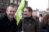 _DSC3077 Staatssecretaris Gelijke Kansen Bruno De Lille en Freya Piryns