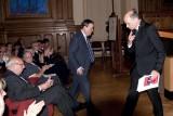 Burgemeester Louis Tobback en Prof Peter Adriaenssens