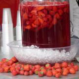 Erdbeerbowle / strawberry punch